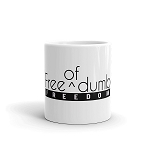 Cell Block Legendz Free (of) Dumb - Freedom Coffee Mug