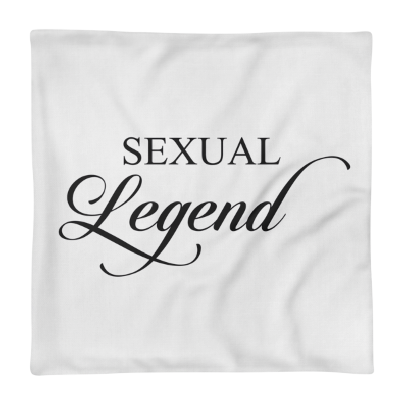 Cell Block Legendz Premium Sexual Legend Single Pillow Case 18x18