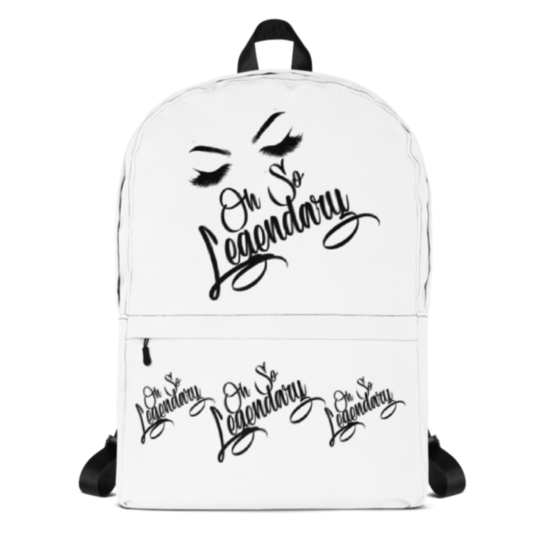 Cell Block Legendz Oh So Legendary With Brows & Lashes Backpack