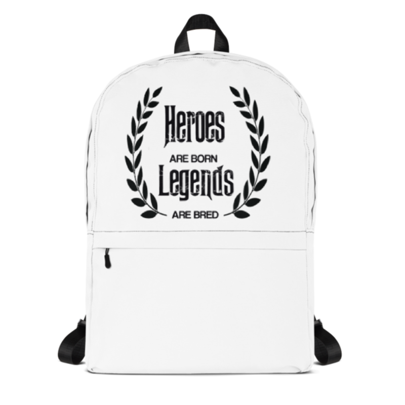 Cell Block Legendz Heroes Are Born - Legendz Are Bred Backpack