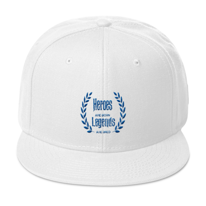 Cell Block Legendz Hero True Royal Blue Snapback (Non-Inmate)