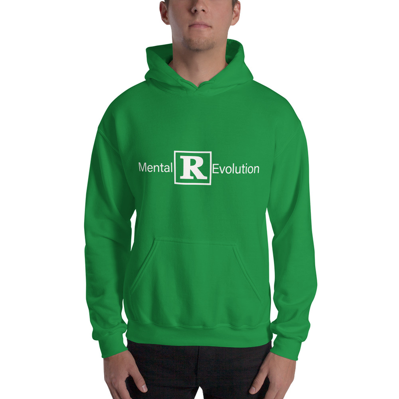 Men's Irish Green Mental [R] Evolution Heavy Blend Hooded Sweatshirt (Non-Inmate)