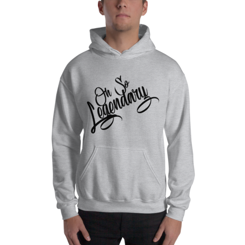 Men's Sport Grey Oh So Legendary Heavy Blend Hooded Sweatshirt (Non-Inmate)