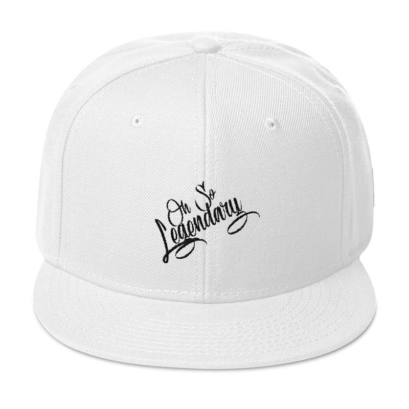 Cell Block Legendz White Oh So Legendary Wool Blend Snapback (Non-Inmate)
