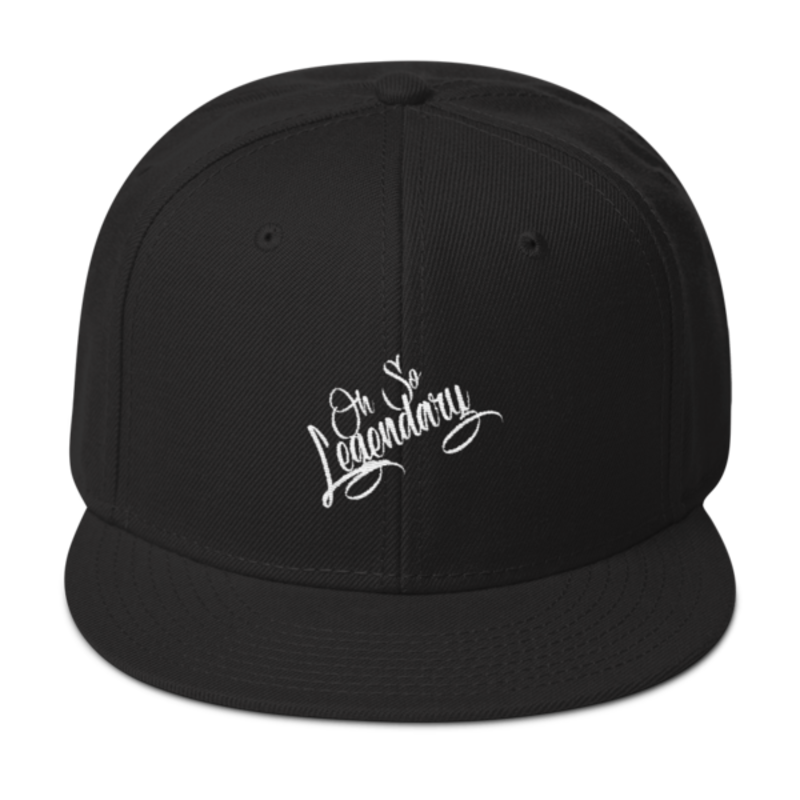 Cell Block Legendz Black Oh So Legendary Wool Blend Snapback (Non-Inmate)