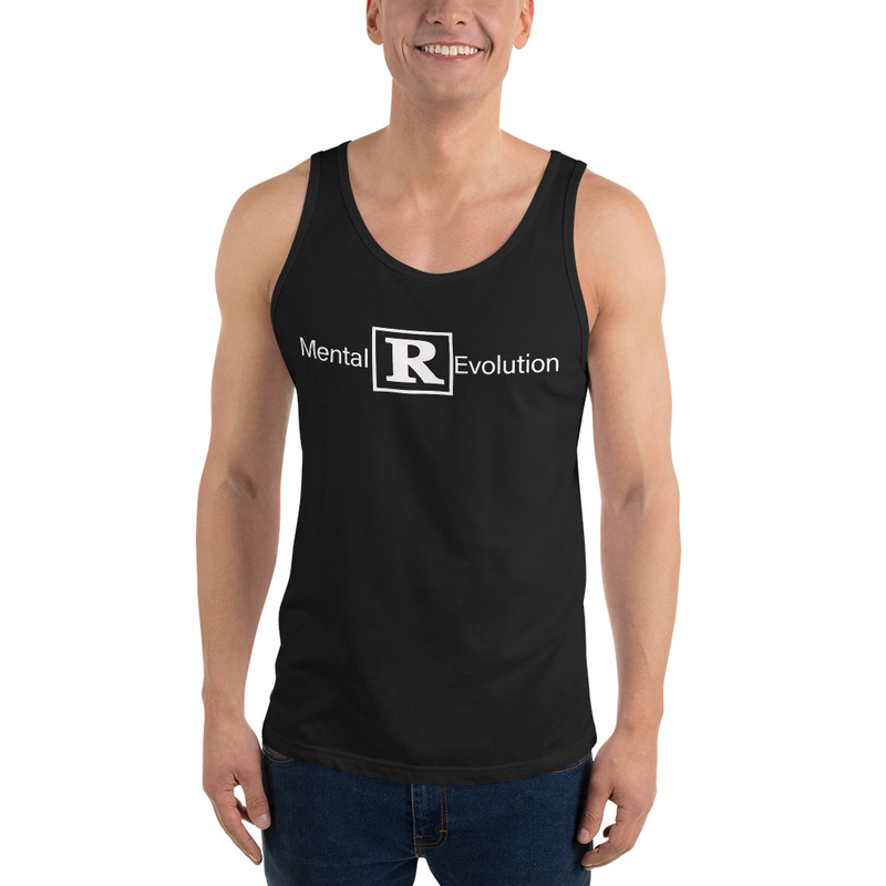 Unisex Black Cell Block Legendz Mental [R] Evolution Jersey Tank Top (Non-Inmate)