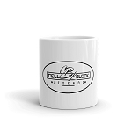 Cell Block Legendz Logo In An Oval Coffee Mug
