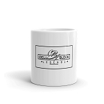 Cell Block Legendz Logo In A Square Coffee Mug