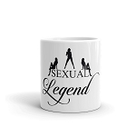 Cell Block Legendz Sexual Legend With Silhouettes Coffee Mug