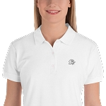 Women's Embroidered Cell Block Legendz CBL Logo Premium Polo Shirt (Non-Inmate)
