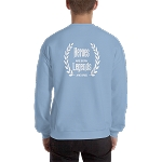Men's Heroes Are Born - Legends Are Bred Heavy Blend Crewneck Sweatshirt (Non-Inmate)