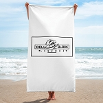 Cell Block Legendz Logo In A Square Beach Towel