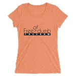 Women's Cell Block Legendz Free (Of) Dumb Triblend Short Sleeve T-Shirt (Non-Inmate)