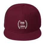 Cell Block Legendz Hero Burgundy Maroon Snapback (Non-Inmate)