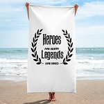 Cell Block Legendz Hero Beach Towel