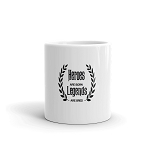 Cell Block Legendz Heroes Are Born- Legends Are Bred Coffee Mug