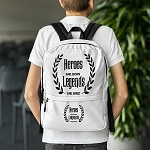 Cell Block Legendz Heroes Are Born - Legends Are Bred Backpack
