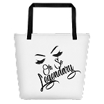 Cell Block Legendz Oh So Legendary With Brows & Lashes Beach Bag