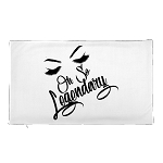 Cell Block Legendz Premium Oh So Legendary Single Pillow Case With Brows & Lashes 20x12