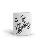 Cell Block Legendz Oh So Legendary With Brows & Lashes Coffee Mug