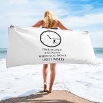 Cell Block Legendz Time Beach Towel