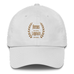 GOLD COLLECTION Cell Block Legendz Heroes Are Born - Legends Are Bred Dad Hat